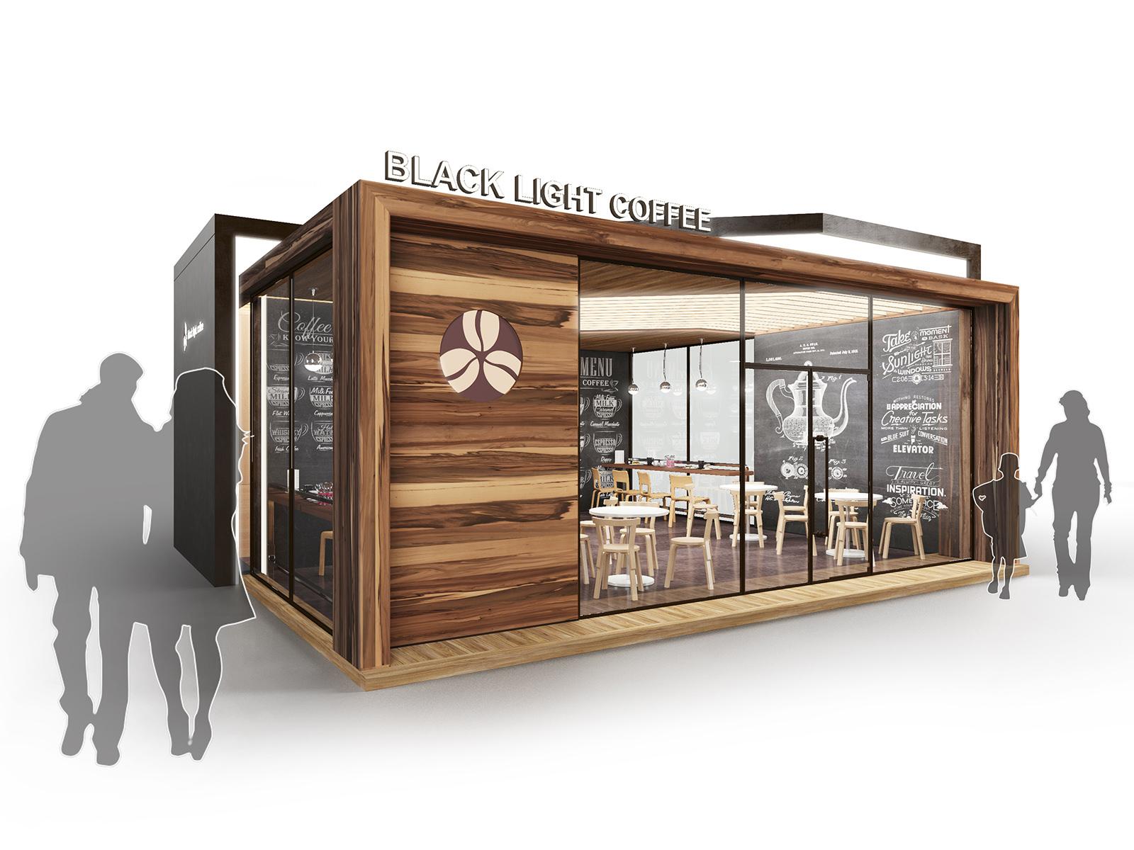 «Кофейня»модульная система для продажи кофе и кулинарии