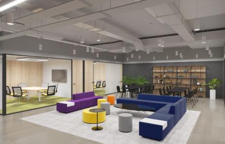 «ОСТРОВ МЕЧТЫ» дизайн интерьеров офисных помещений